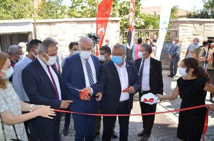 Aydın'da eski DP Milletvekili Baki Öktem'in evi, konukevi olarak hizmete açıldı