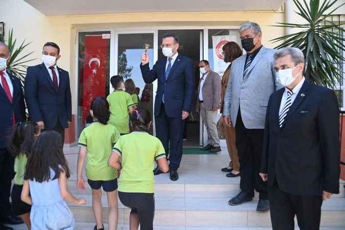 Aydın'da 177 bin öğrenci yüz yüze eğitime başladı
