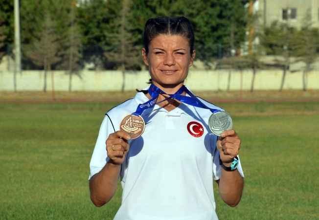 İşitme engelli atlet Aysun Akay'ın hedefi yaz olimpiyatları