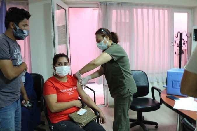Söke'de Esnaf Odası'ndan aşı kampanyası