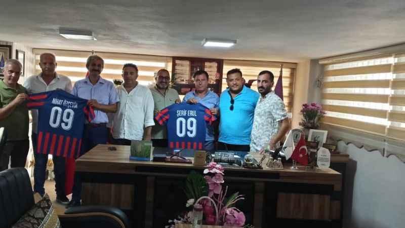 Altınkum Spor yönetiminden Esnaf Odası'na ziyaret