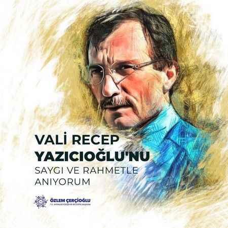 Başkan Çerçioğlu, efsane Vali Yazıcıoğlu'nu unutmadı