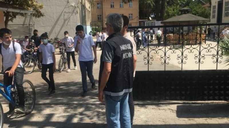 Nazilli polisinden okul çevrelerinde uygulama