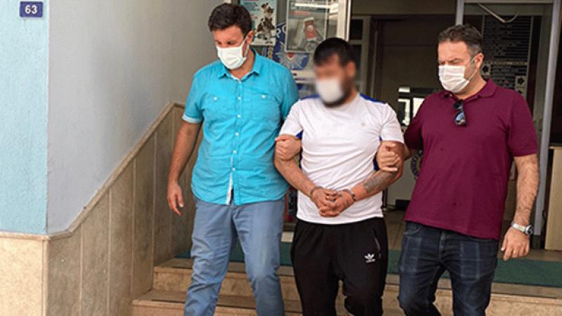 Rögar kapaklarını çaldığı iddiasıyla yakalanan zanlı tutuklandı
