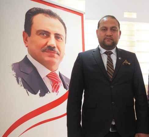 BBP'de Karacasu İlçe Başkanına övgü