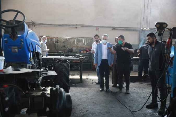Savaş'tan fabrika ziyareti