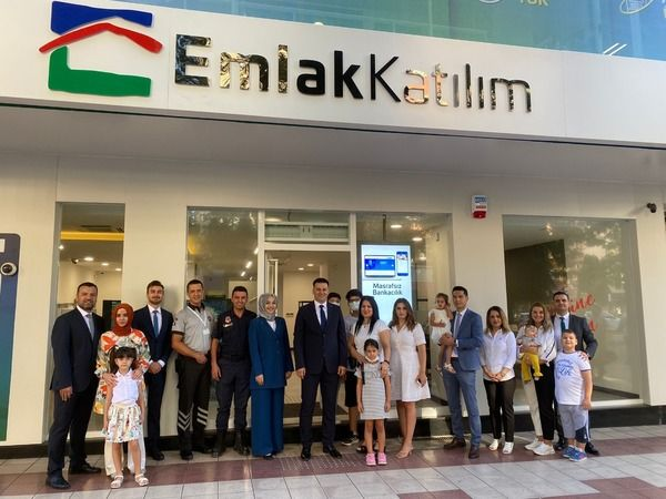 Türkiye Emlak Katılım Bankası'nın Aydın Şubesi hizmete açıldı