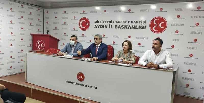 MHP'de ilçe başkanları toplantısı yapıldı