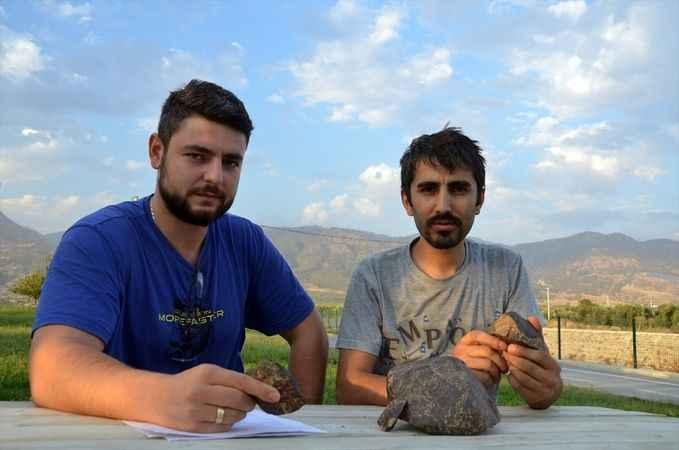 İki arkadaşın bulduğu taşın meteor olduğu belirlendi