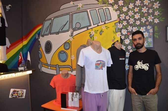 'Karavan Store'da hayaller hayat buluyor