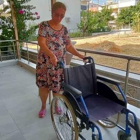 Engelli vatandaşın talebi yerine getirildi