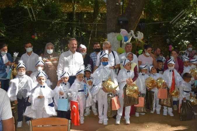 Karacasu'da toplu sünnet etkinliği düzenlendi