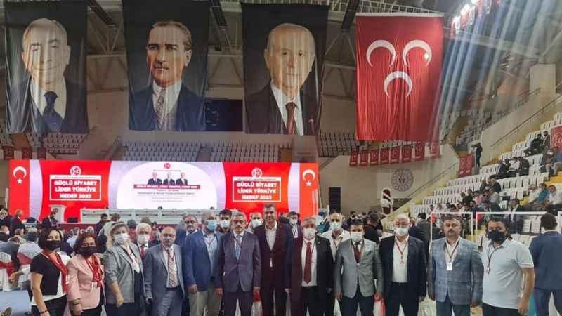 MHP Aydın İl Teşkilatı, bölge istişare toplantısına katıldı