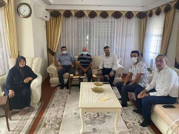 AK Partili Özmen, Didim'de ev ziyaretlerinde bulundu