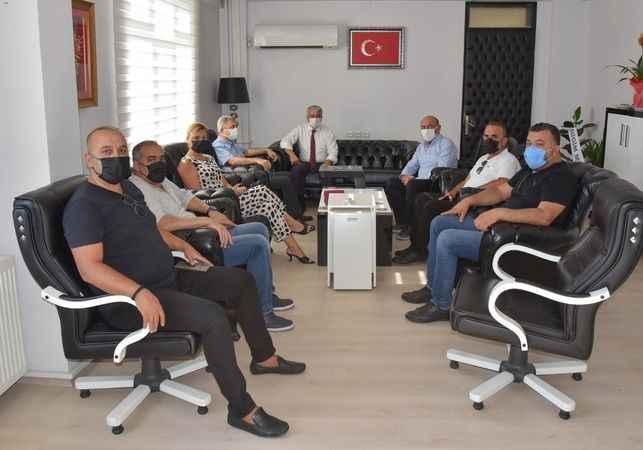 DTO'dan Yiğit'e hayırlı olsun ziyareti
