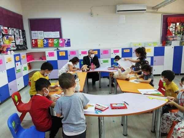İl Müdürü Okumuş, Çine'de öğrencilerle buluştu