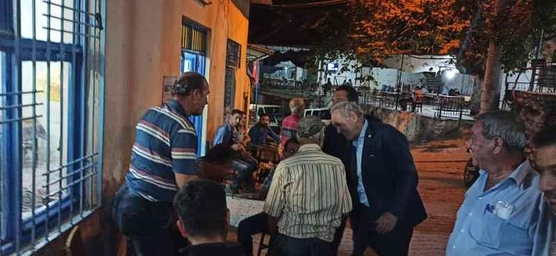 Milletvekili Sezgin'den Koçarlı'da mahalle ziyaretleri