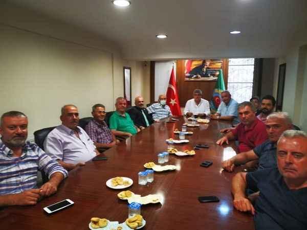 Posacı'dan Efeler Ziraat Odası'na ziyaret