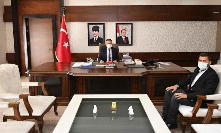 AK Partili Kandemir, Çine'nin projeleri için devrede