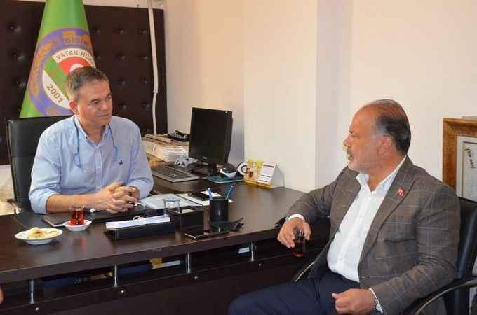 Didim Ziraat Odasından AK Partili Yavuz'a teşekkür