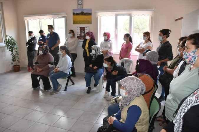 Karacasu'da okullarda görev yapacak 8 işçi kurayla belirlendi