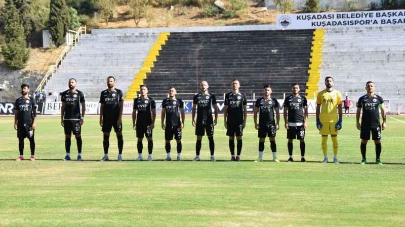 Kuşadası Gençlikspor yenilgiyi unuttu