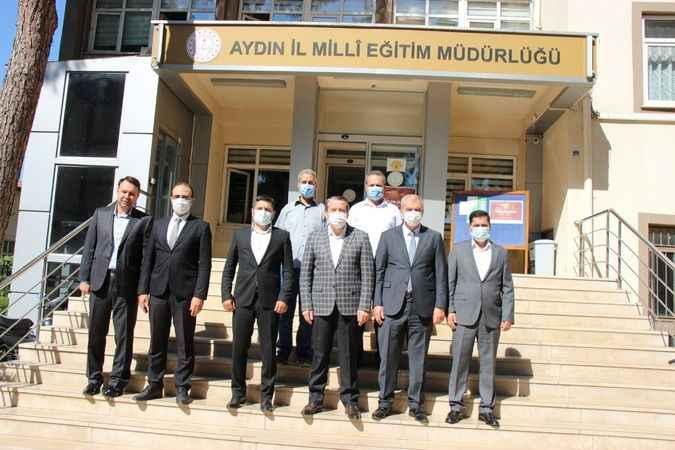 Memur-Sen Genel Başkanı Yalçın'dan Okumuş'a ziyaret
