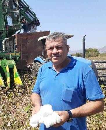 Pamuk üreticisi mutlu