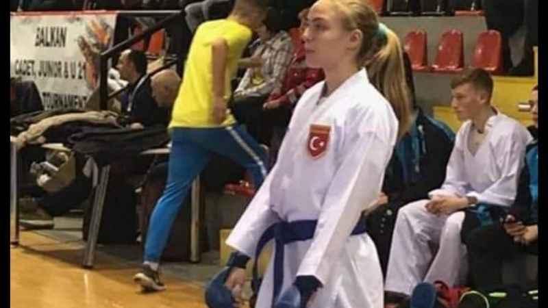 Aydınlı Bilge, Karate Milli Takımı'na girdi