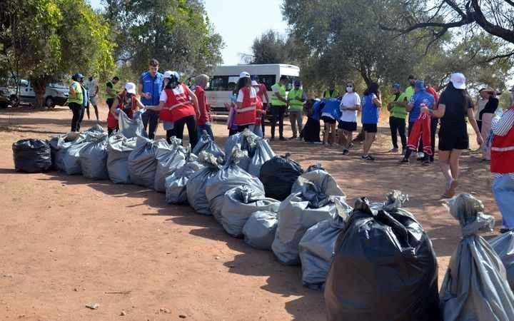 'Dünya Temizlik Günü' kapsamında çevre temizliği yapıldı