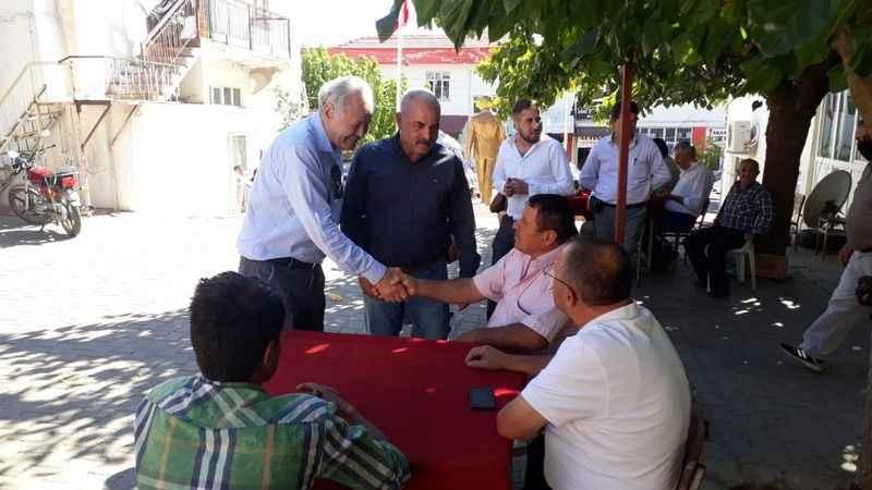İYİ Partili Sezgin, Karacasu'da ziyaretlerde bulundu