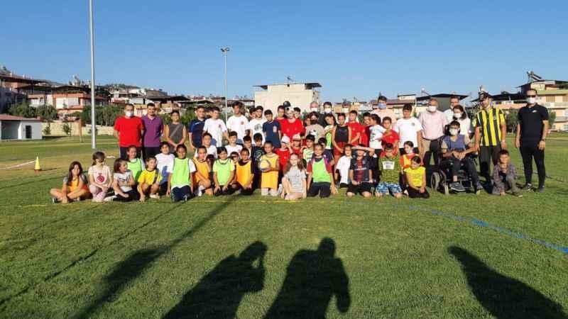 Kuyucak'ta çocuklar etkinliklerle eğlendi