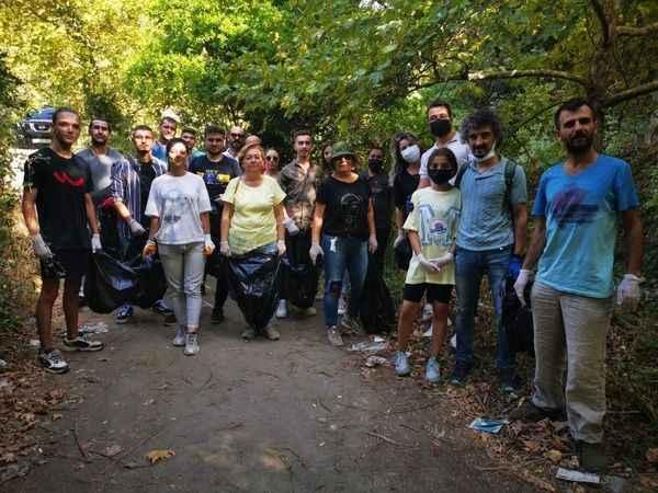Nazilli'de haydi temizlik yapalım etkinliği
