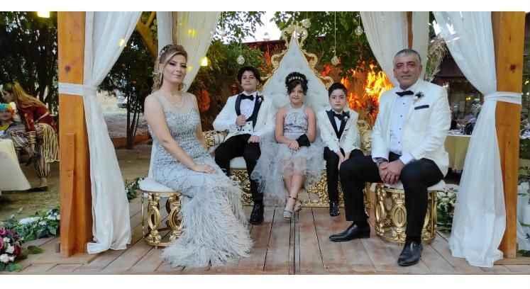 Polat ailesinin mutlu günü