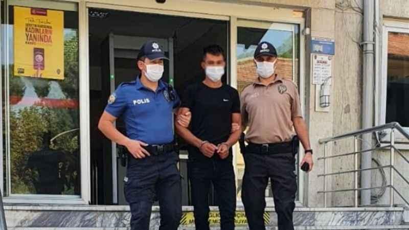 Aydın'da bıçaklı kavga şüphelisi tutuklandı