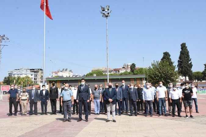 Germencik'te 19 Eylül Gaziler Günü kutlandı