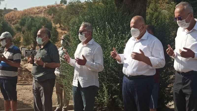 CHP'li Çankır'ın dayısı ebediyete uğurlandı