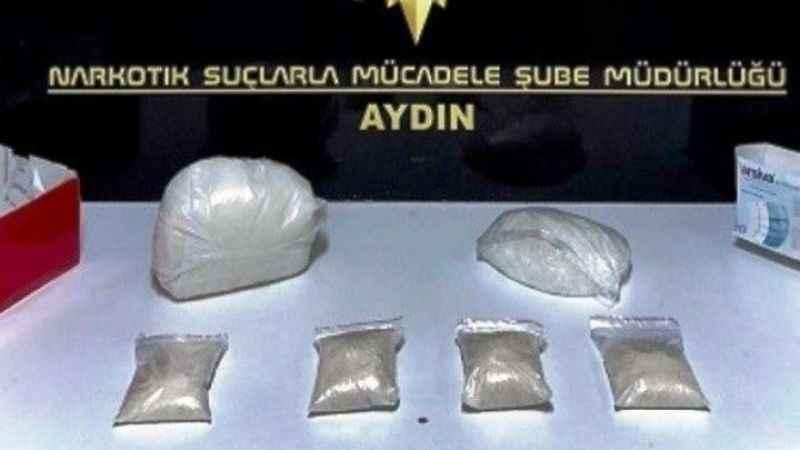 Aydın'da 10 zehir taciri tutuklandı