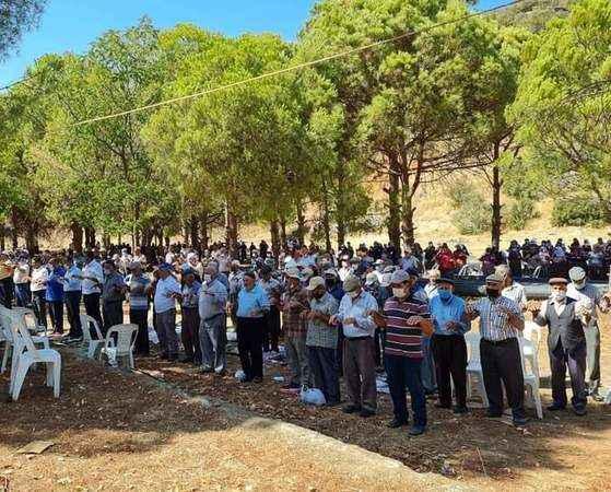 Karpuzlu'da vatandaşlar yağmur duasına çıktı