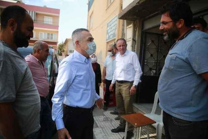 AK Partili Savaş, Sultanhisar'da esnaf ve vatandaşlarla bir araya geldi