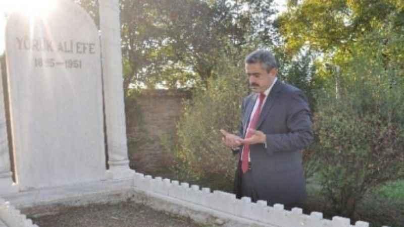 Alıcık, Yörük Ali Efe'yi mezarı başında andı