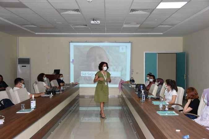 Aydın'da sağlık personeline anne sütü eğitimi verildi