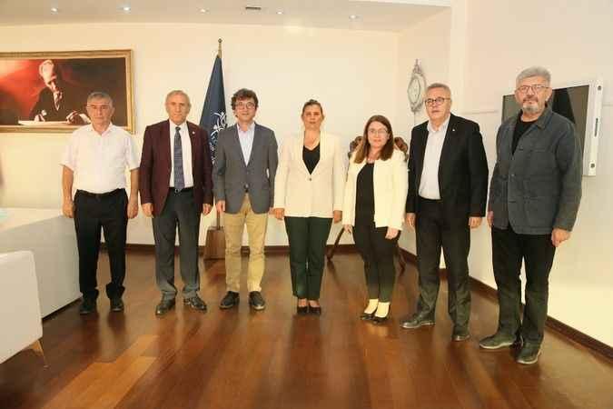 CHP heyetinden Başkan Çerçioğlu'na ziyaret