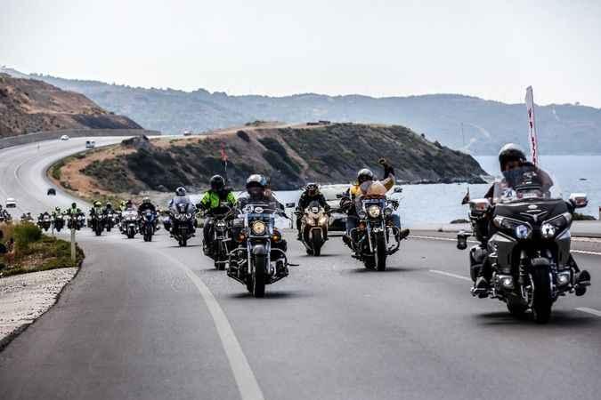 FIM Uluslararası Motosiklet Turu, Kuşadası'ndan başladı