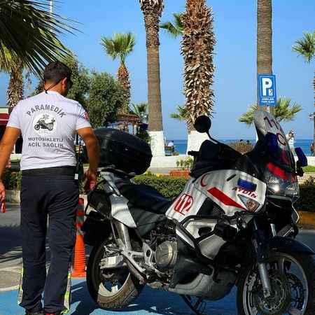 Motorize ekip, Kuşadası'nda hayat kurtarmaya devam ediyor