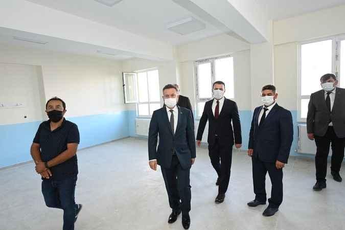 Vali Aksoy, Bozdoğan'da kamu yatırımlarını inceledi