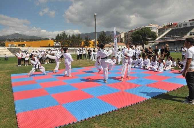 Aydın'da 'Avrupa Spor Haftası'nın açılış programı gerçekleştirildi