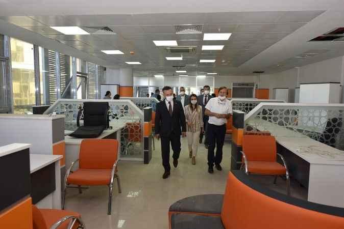 Aydın'da 2 kurum yeni binasına taşındı