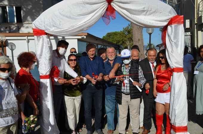 """Didim'de """"Altınkum Sanat Sokağı"""" törenle açıldı"""