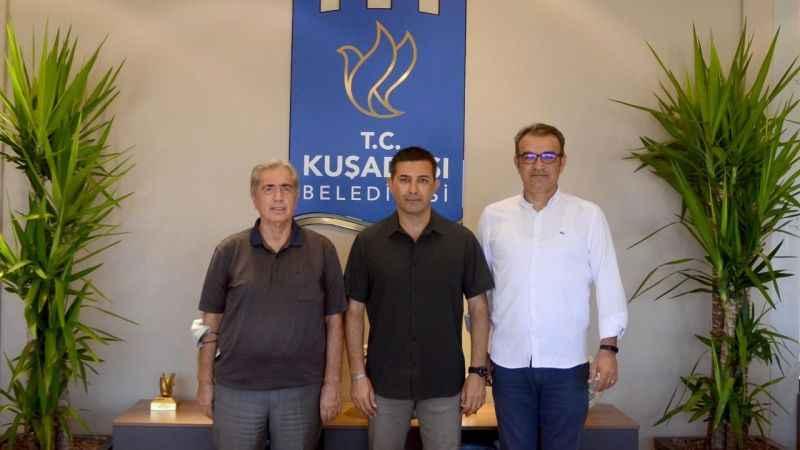 Aydın ASKF'den Başkan Günel'e teşekkür ziyareti